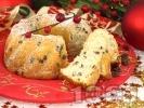 Рецепта Коледен кекс със стафиди